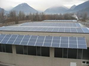 Impianto fotovoltaico su Capannone